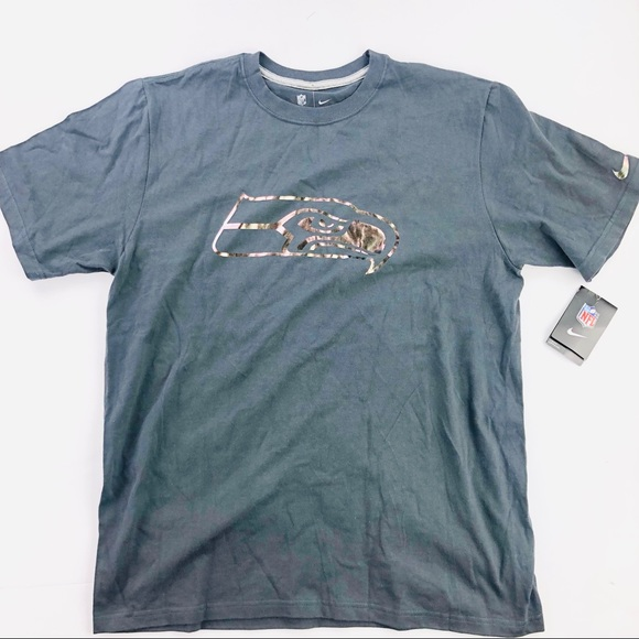 Nike Other - Nike NFL Seattle seahawks reflective shirt